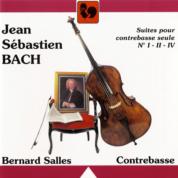Bach - Cello Suites - BWV 1007 - Cello Suite - Bernard Salles