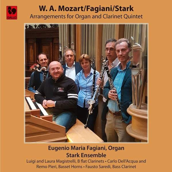 Mozart - Stark - Organ and Clarinet Quintet - Stark Ensemble