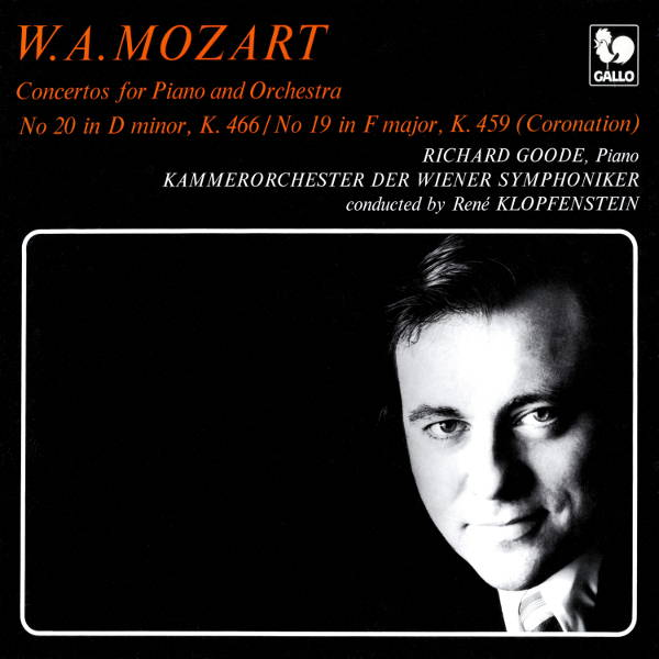 Mozart : Piano Concertos - Richard Goode - Kammerorchester der Wiener Symphoniker