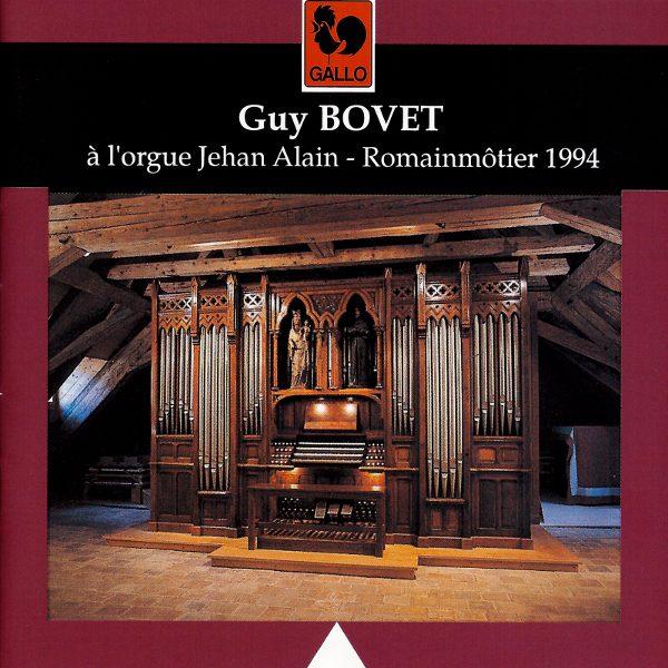 Guy Bovet - Bach - Liszt - Alain - Jehan Alain