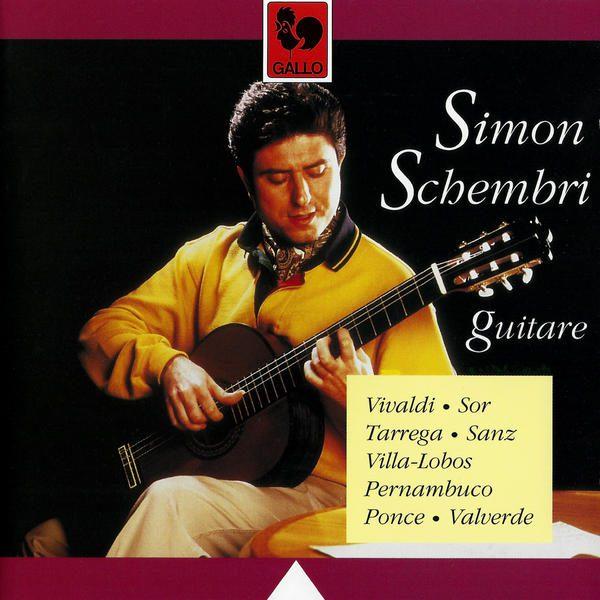 Vivaldi - Handel - Villa-Lobos - Simon Schembri - Guitar