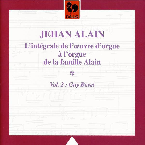 Guy Bovet - Jehan Alain - Organ