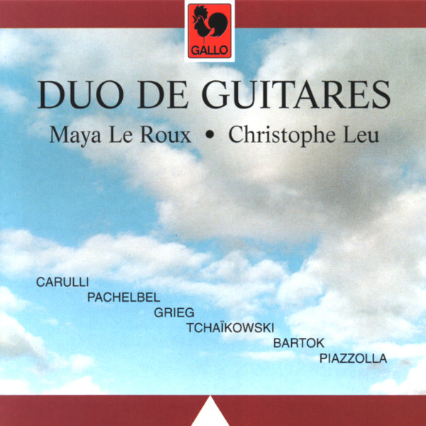 TCHAIKOVSKY : Humoresque for Two Guitars, Op. 10 No. 2 - PACHELBEL : Canon in D Major... - Maya Le Roux & Christophe Leu, Guitar Duo.