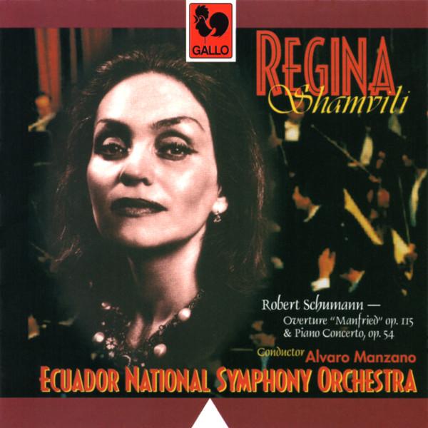 Robert Schumann - Overture Manfred - Piano Concerto - Regina Shamvili