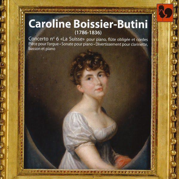 Caroline Boissier-Butini - Concerto No. 6 La Suisse - Eva-maria Zimmermann - Berner Kammerorchester