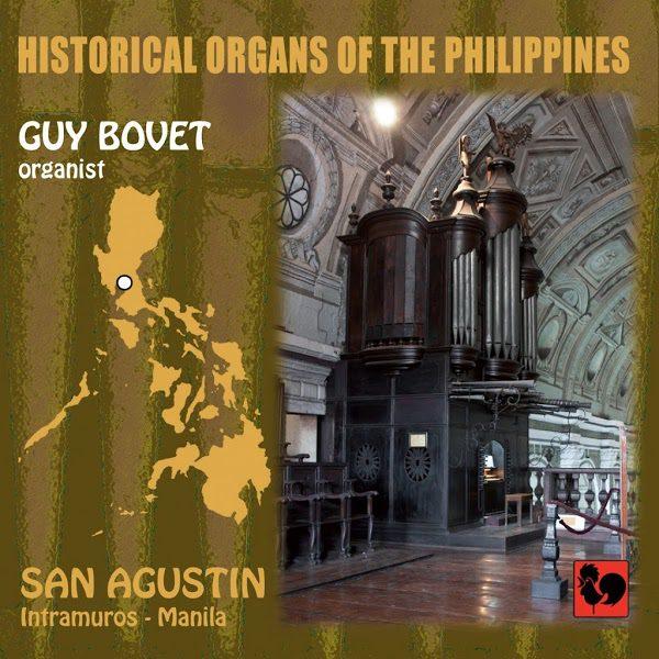 Guy Bovet - Historical Organs of the Philippines - Domenico Scarlatti - San Agustin