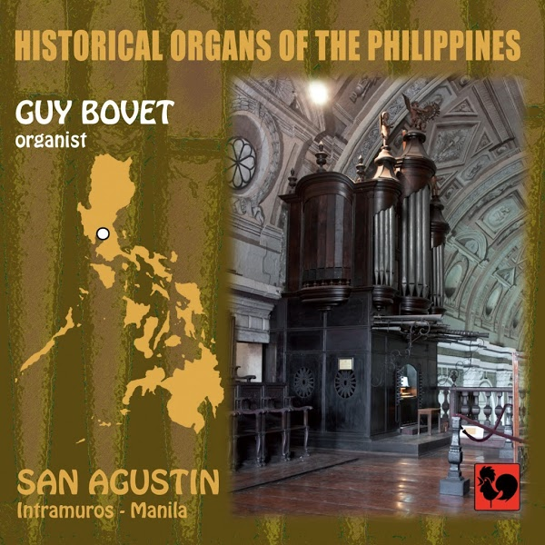 Guy Bovet - Historical Organs of the Philippines - Domenico Scarlatti - San Agustin