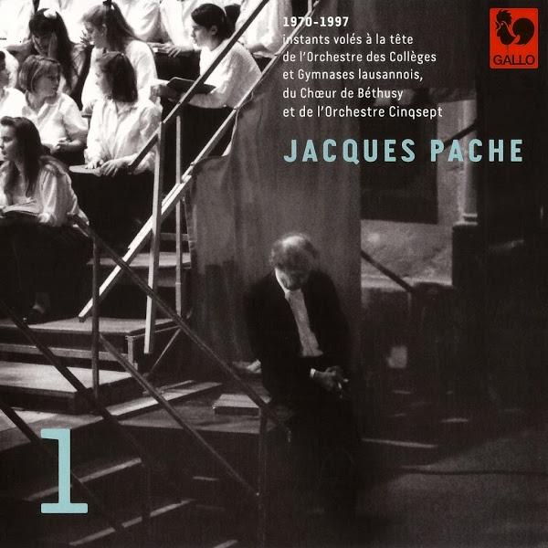 Jacques Pache - Orchestre des Collèges et Gymnases Lausannois - Mozart - Bach - Handel