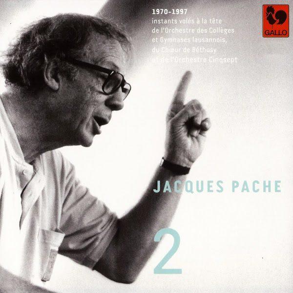 Jacques Pache - Johann Sebastian Bach - Antonio Vivaldi - Orchestre des Collèges et Gymnases lausannois - Handel