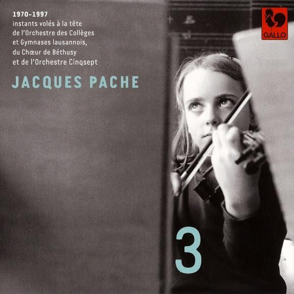 Johann Sebastian Bach - Jacques Pache - Orchestre des Collèges et Gymnases lausannois - Glazounov - Ligeti