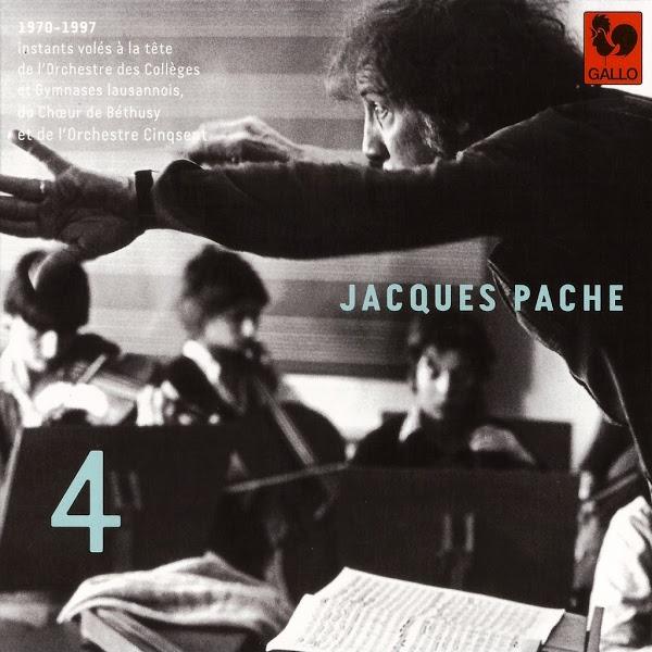 Jacques Pache - Orchestre des Collèges et Gymnases Lausannois - Bach - Britten - Mozart