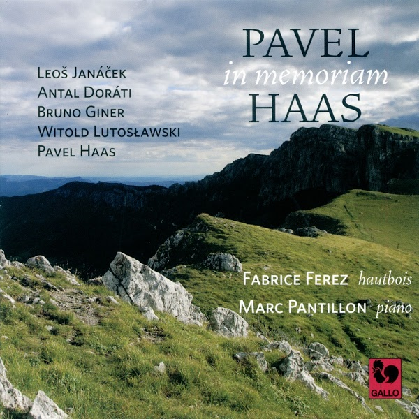 Janacek - Pavel Haas - Lutoslawski - Fabrice Ferez, Oboe - Marc Pantillon, Piano