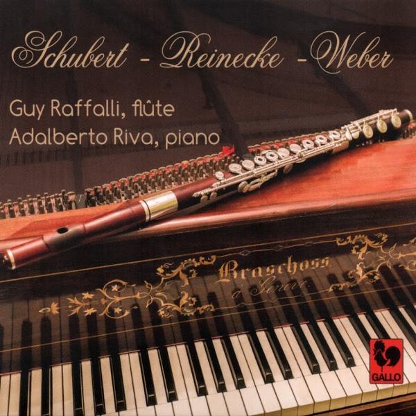 Schubert - Reinecke - Carl-Maria von Weber - Adalberto Maria Riva - Guy Raffalli