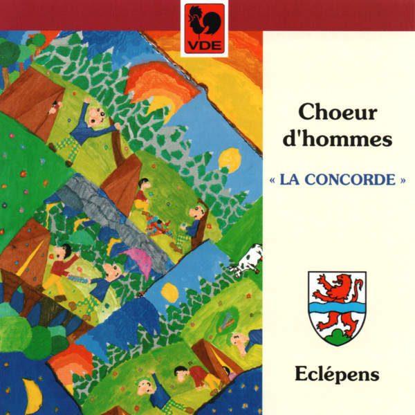 Chœur d'hommes d'Eclépens - La Concorde - Joseph Bovet - Jean Daetwyler - Jacques Bron