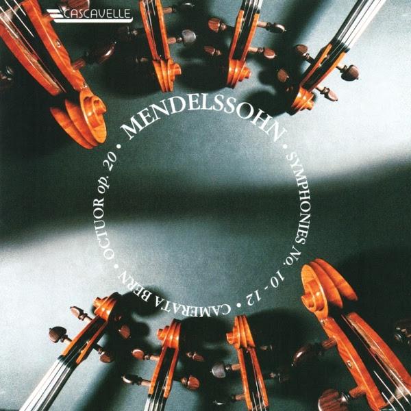 Felix Mendelssohn - String Octet - String Symphony - Camerata Bern - Thomas Füri