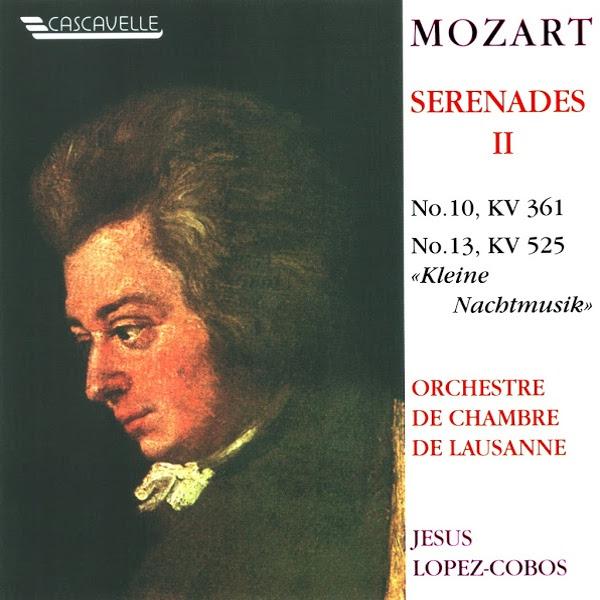 Mozart - Serenade - Gran Partita - Orchestre de Chambre de Lausanne - Jesús López-Cobos