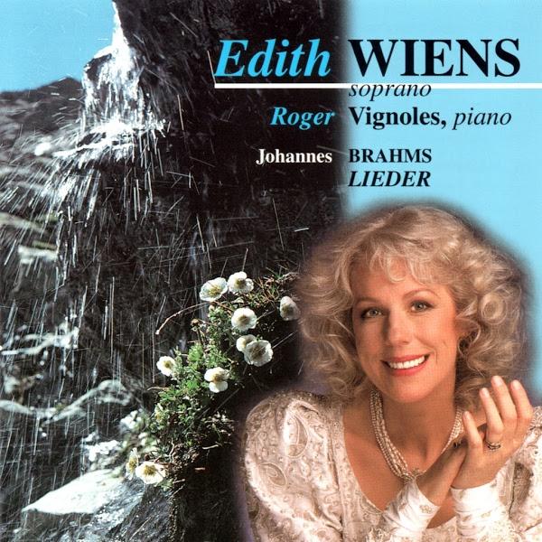 Brahms - Lieder - Edith Wiens - Roger Vignoles