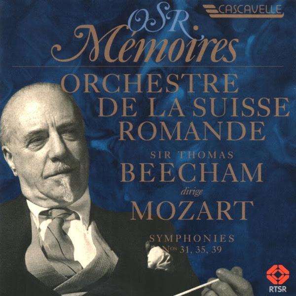 Mozart - Symphony - Orchestre de la Suisse Romande - Sir Thomas Beecham