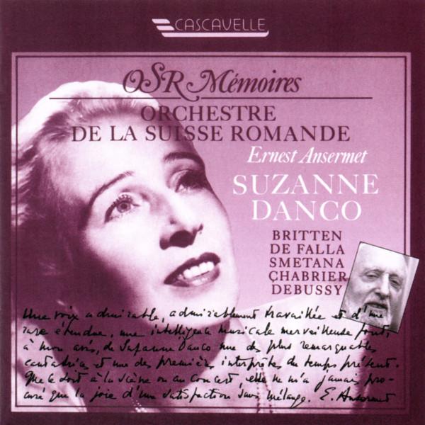 Benjamin Britten - Manuel de Falla - Suzanne Danco - Orchestre de la Suisse Romande - Ernest Ansermet