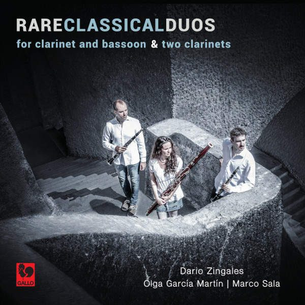 Franz Wilhelm Tausch - Franz Anton Hoffmeister - François René Gebauer - Rare Classical Duos for Clarinet & Bassoon and two Clarinets