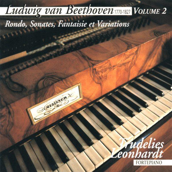 Beethoven - 5 Variations WoO 79 - 6 Ecossaises WoO 83 - Trudelies Leonhardt - Fortepiano