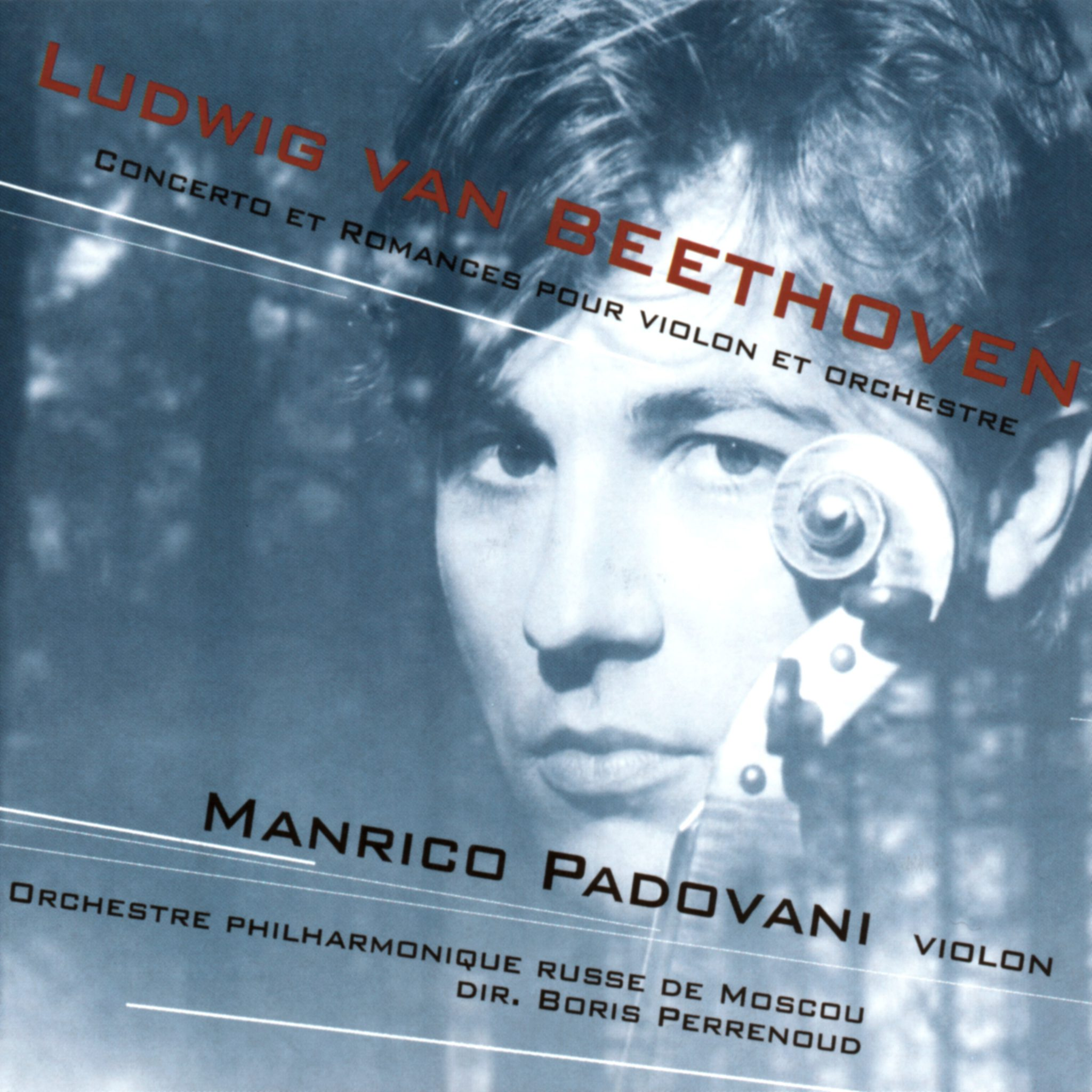 Beethoven - Violin Concerto - Manrico Padovani - Moscow Philharmonic Orchestra