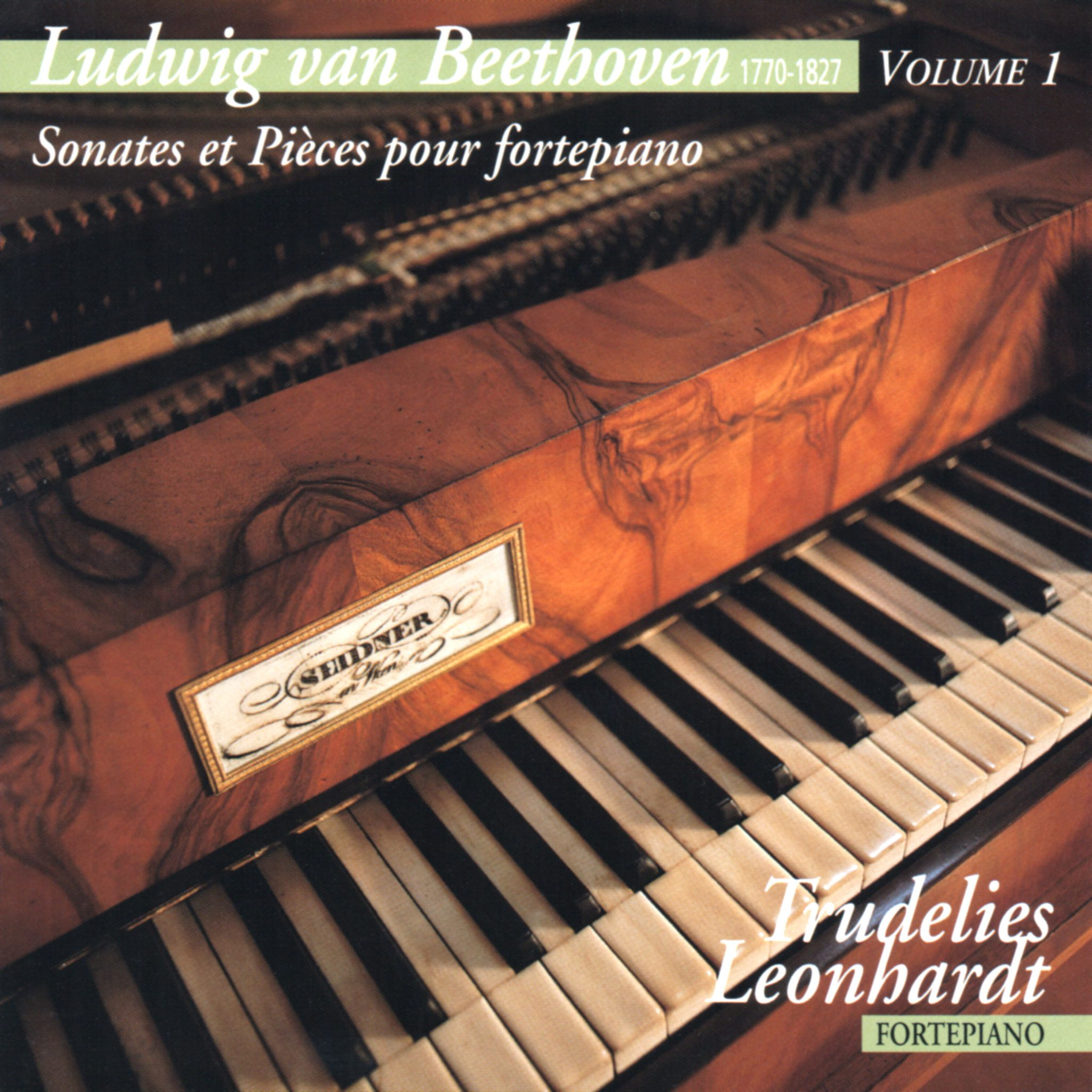 Ludwig van Beethoven - Für Elise - Piano Sonata WoO 47 - Trudelies Leonhardt - Fortepiano