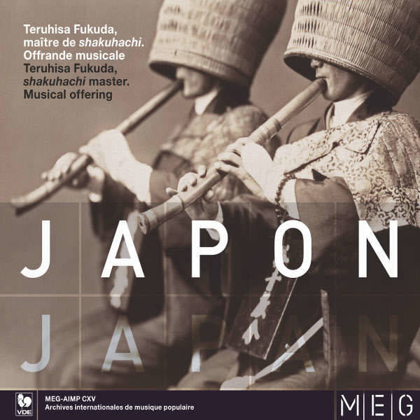 Musique du Monde - Japon - Japan - Teruhisa Fukuda - Maître de shakuhachi - Shakuhachi Master
