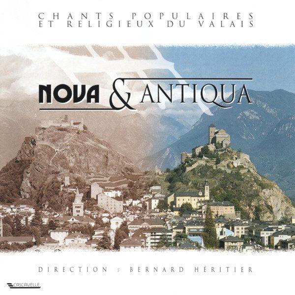 Chants populaires et religieux du Valais - Arthur Parchet - Jean Daetwyler - Pierre Chatton - Choeur Novantiqua - Bernard Héritier