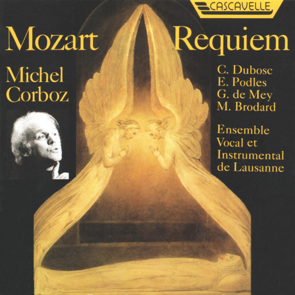 Mozart - Requiem in D Minor K. 626 - Lacrimosa - Ensemble Vocal et Instrumental de Lausanne - Michel Corboz