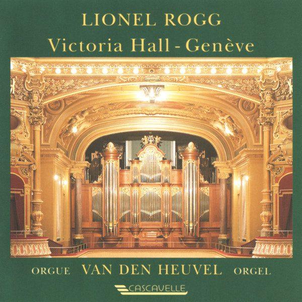 César Franck Choral - Brahms Variations Op. 56 - Lionel Rogg