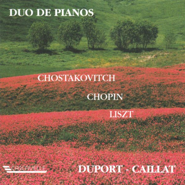 Dmitri SHOSTAKOVICH : Suite in F-Sharp Minor, Op. 6 - Frédéric CHOPIN : Rondo in C Major, Op. 73 - Franz LISZT : Concerto Pathétique in E Minor, S. 258/1