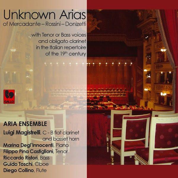 Mercadante - Rossini - Donizetti - Unknown Arias - Aria Ensemble