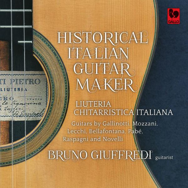 Historical italian Guitar Maker - Liuteria Chitarristica Italiana - Bruno Giuffredi