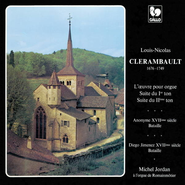 Louis-Nicolas Clerambault : Suite du premier et deuxième ton - Michel Jordan