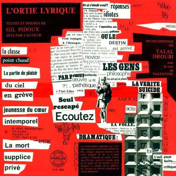Gil Pidoux : L'ortie Lyrique