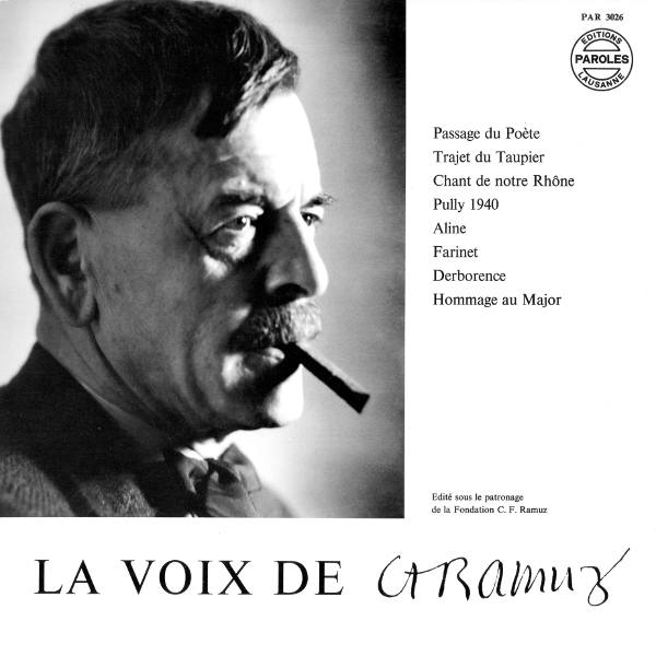 La Voix de Charles Ferdinand Ramuz