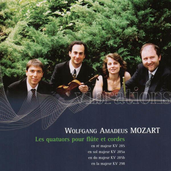 Mozart: Flute Quartet No. 1, no. 2, No. 3, No. 4 - Bruno Grossi. Flute