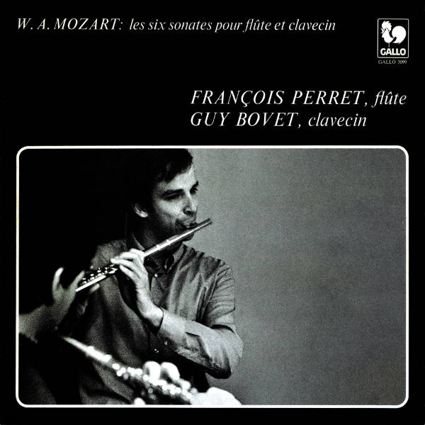 Mozart. 6 Sonatas for Flute and Harpsichord - François Perret - Guy Bovet