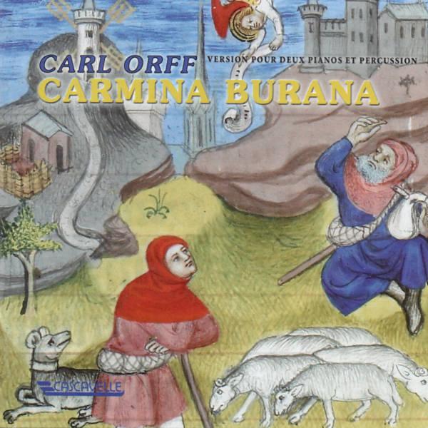 Carl ORFF: Carmina Burana - Mayumi Kameda & Jean-Jacques Balet, pianos - Chœur Novantiqua de Sion - Schola des Petits Chanteurs de Sion - Ensemble à percussion de Genève - Bernard Héritier, direction