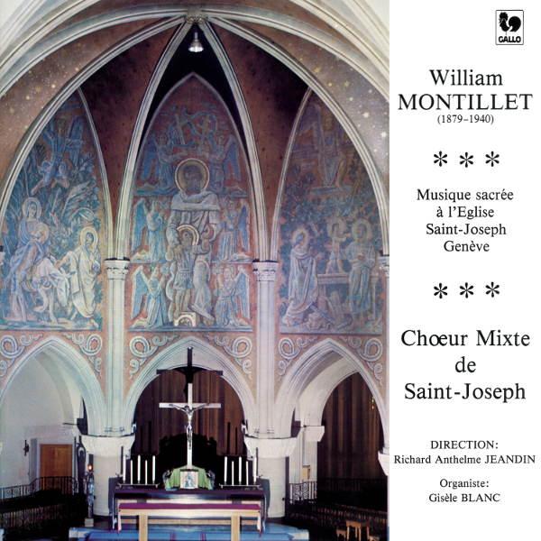 William MONTILLET: Messe de Sainte-Cécile - Troisième Nocturne des Matines - Gisèle Blanc, orgue – Chœur Mixte de Saint-Joseph de Genève.