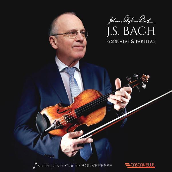 Bach: 6 Sonatas & Partitas for Violin Solo - Jean-Claude Bouveresse