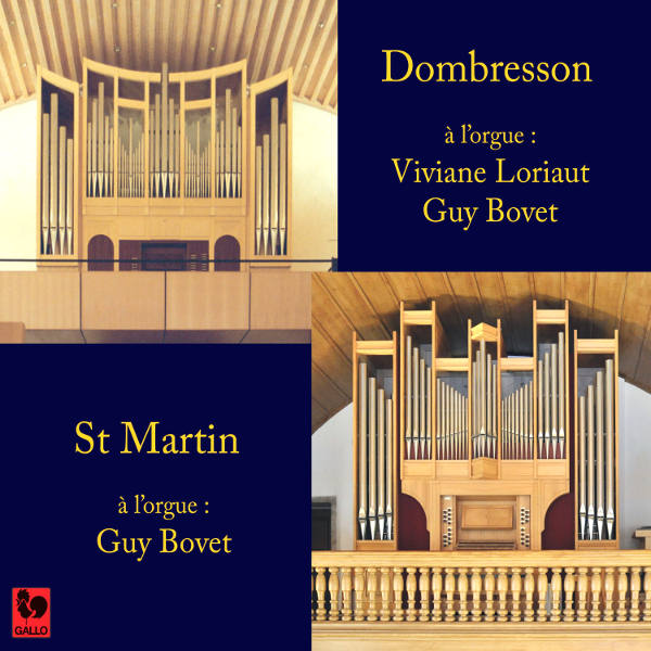 Bach : Organ Concerto in D Minor, Guy Bovet & Viviane Loriaut, Organ of Dombresson and St Martin
