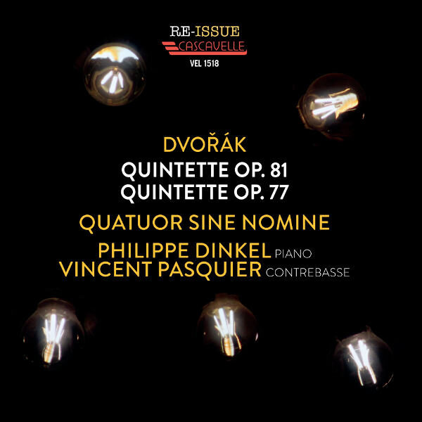 Dvorak Quintett, Op. 81 & 77 - Quatuor Sine Nomine