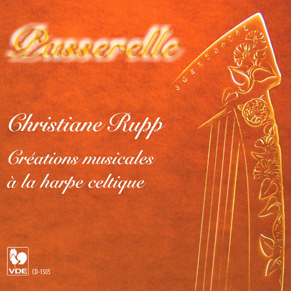 passerelle - Christiane Rupp à la harpe celtique