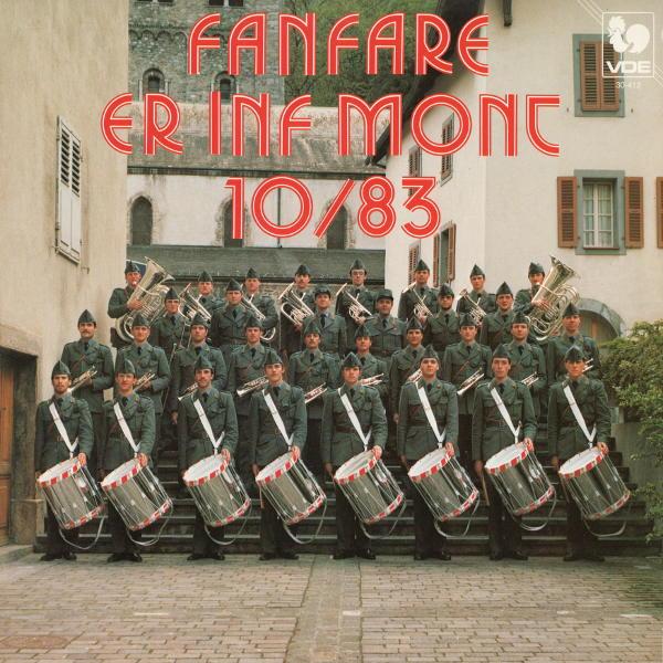 Jean BALISSAT: Petite ouverture romantique - Albert BENZ: Der Meister - Joseph BOVET: La fanfare du printemps. Fanfare ER Inf Mont 10/83