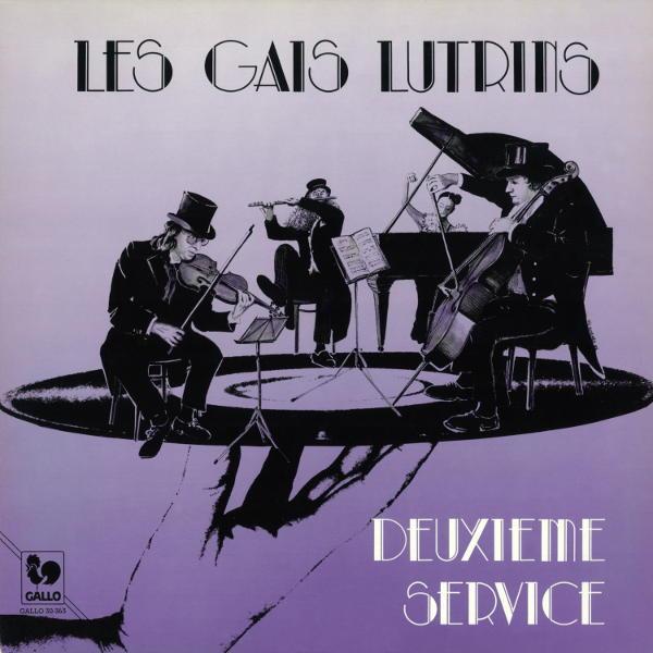 Deuxième service - Les Gais Lutrins: Mouna Saydjari – Pierre-Henri Ducommun – Jean-Paul Jeannere – François Allemand.