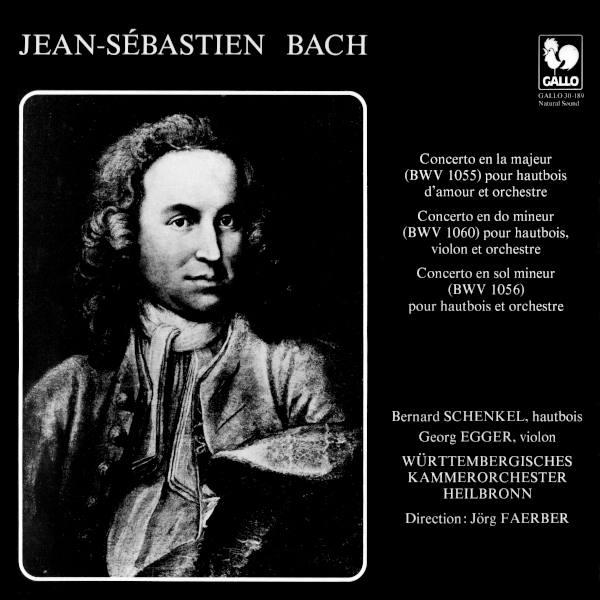 BACH: Oboe d'amore Concerto in A Major, BWV 1055R - Oboe Concerto in G Minor - Bernard Schenkel -  Württembergisches Kammerorchester.
