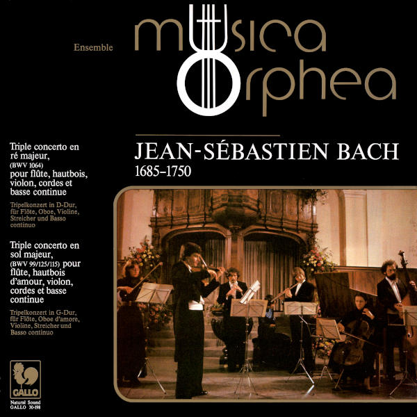 BACH: Triple Concerto in D Major, BWV 1064R - Triple Concerto in G Major, BWV 99/125/115 - Ensemble Musica Orphea.