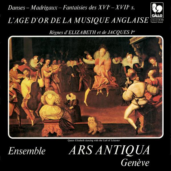 L'âge d'or de la musique anglaise: Henri VIII: Festive Ayre - Alfonso FERRABOSCO II: Heare Me, O God - Thomas SIMPSON - Ensemble Ars Antiqua.